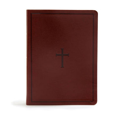 KJV Study Bible, Brown LeatherTouch, Indexed by Holman Bible Publishers - Unique Catholic Gifts
