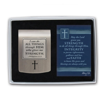 I Can Do All Things Visor Clip Gift - Unique Catholic Gifts