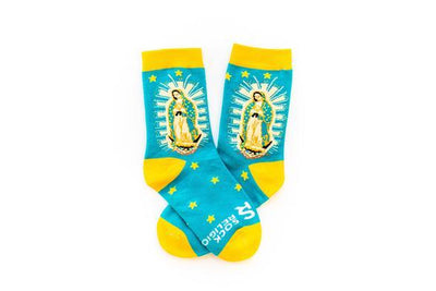 Our Lady of Guadalupe Socks Kids