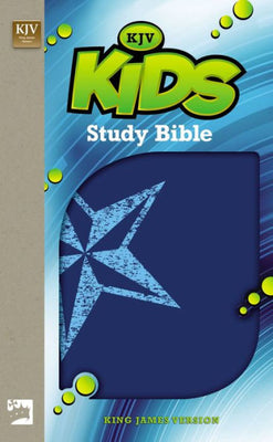 King James Version Kids Study Bible (Blue) by Lawrence O. Richards - Unique Catholic Gifts