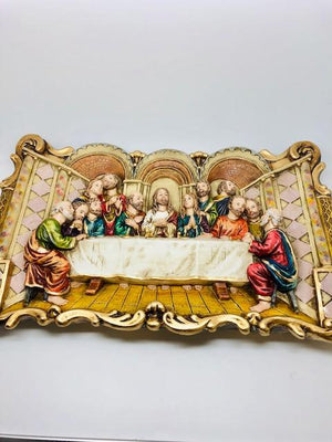 Last Supper Wall Plaque (16 x 11