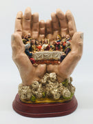 "Last Supper in the Hands of Our Lord Statue (7"") - Unique Catholic Gifts"