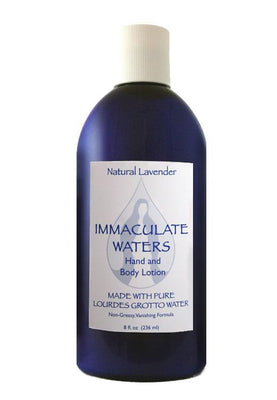 Immaculate Waters Lavender Lotion - Unique Catholic Gifts