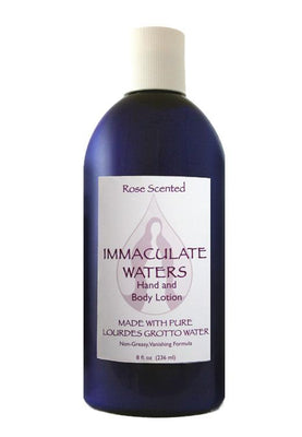 Immaculate Waters Rose Lotion - Unique Catholic Gifts