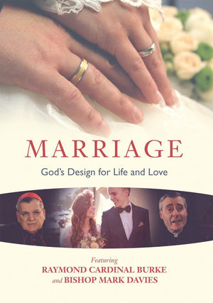 Marriage DVD: God's Design for Life and Love by Raymond Cardinal and Bishop Mark JMJ - Unique Catholic Gifts