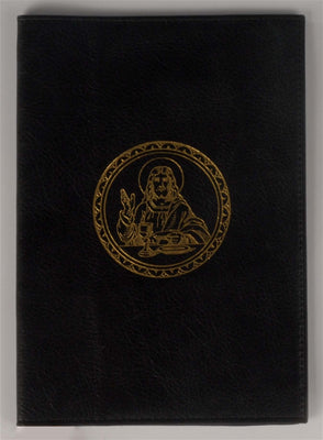 Magnificat Black Leather Cover