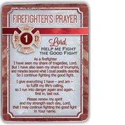 Firefighter's Prayer Desk Plaque