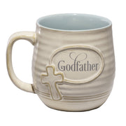 Thank You Godfather Mug - Unique Catholic Gifts