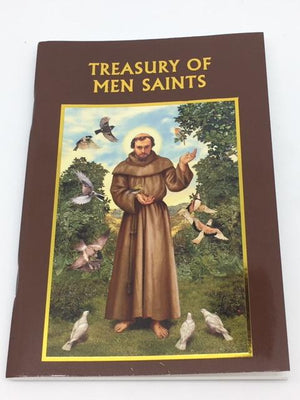 Aquinas Press® Prayer Book - Treasury Of Men Saints