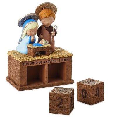 Mini Nativity Perpetual Advent Calendar