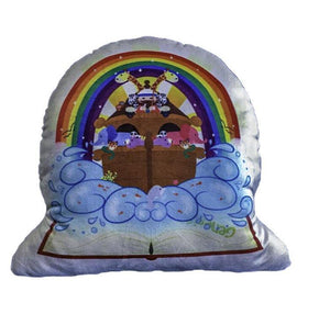 Noah Ark Cuddle Story Pillow - Unique Catholic Gifts
