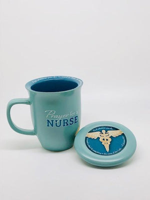 Prayer for a Nurse Mug and Coaster Set - Unique Catholic Gifts