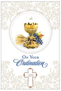 On Your Ordination Greeting Card - Unique Catholic Gifts