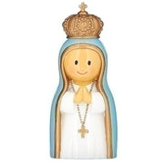 "Our Lady of Fatima Little Patron Figure 3 1/4"" - Unique Catholic Gifts"