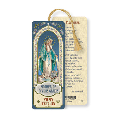 Our Lady of Grace Tasseled Bookmark - Unique Catholic Gifts
