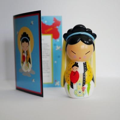 Our Lady Of China Shining Light Doll - Unique Catholic Gifts