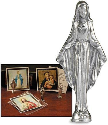 Our Lady Of Grace Pocket Statue (1 1/2