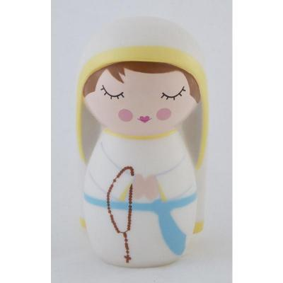 Our Lady of Lourdes Shining Light Doll - Unique Catholic Gifts
