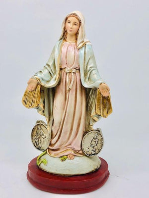Our Lady of the Miraculous Medal Statue (8 1/2