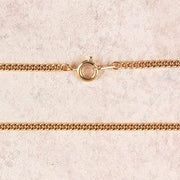 "Medium Gold Plated Chain with Clasp ( 24"") - Unique Catholic Gifts"
