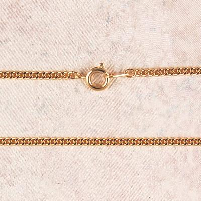 Medium Gold Plated Chain with Clasp ( 24