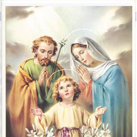 "Holy Family Print 8 x 10"" - Unique Catholic Gifts"
