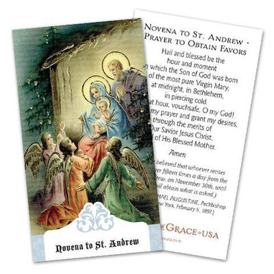 St. Andrew Novena Prayer Card