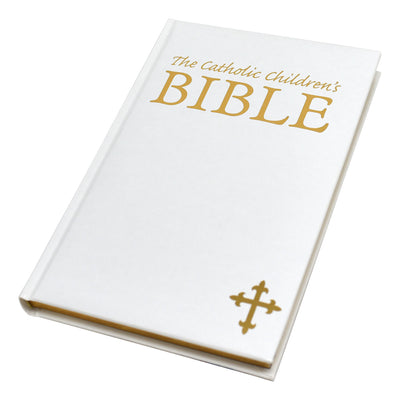Catholic Children's Bible White Gift Edition - Unique Catholic Gifts