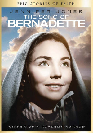 The Song of Bernadette DVD - Unique Catholic Gifts