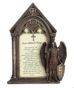 Saint Michael's Prayer Photo Frame - Unique Catholic Gifts