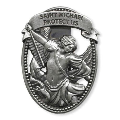 Saint Michael Visor Clip - Unique Catholic Gifts
