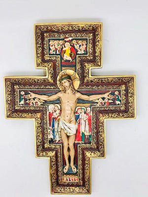 San Damiano Wall Crucifix Plaque (11