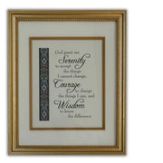 "Serenity Prayer Wall Plaque (16 x 12"") - Unique Catholic Gifts"