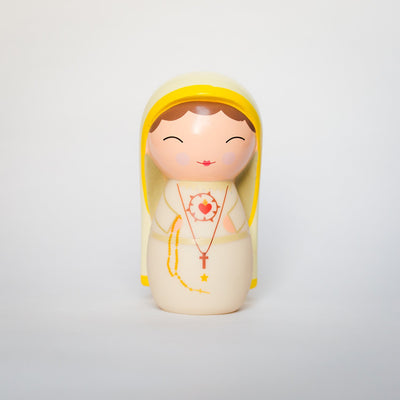 Our Lady of Fatima Shining Light Doll - Unique Catholic Gifts