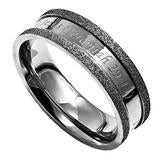 "Silver Champagne Ring, ""I Know"" - Unique Catholic Gifts"