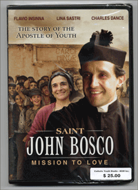 Saint John Bosco DVD: Mission to Love. JMJ