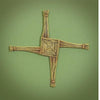 "St. Brigid Wall Cross (10"")"