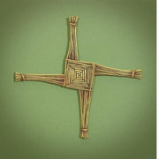 "St. Brigid Wall Cross (10"") - Unique Catholic Gifts"