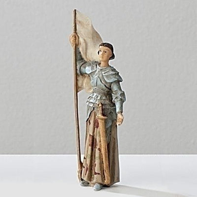 St. Joan of Arc Figurine Statue 3 1/2