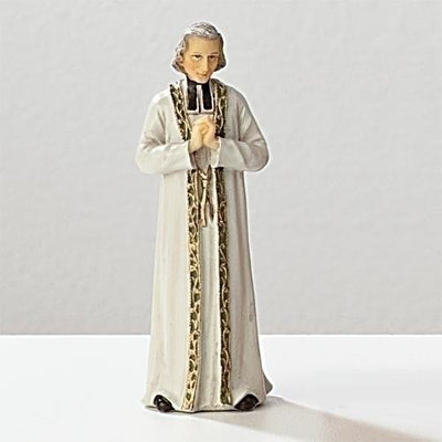 St. John Vianney Statue  3 3/4 - Unique Catholic Gifts