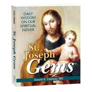 St. Joseph Gems: Daily Wisdom on our Spiritual Father - Unique Catholic Gifts