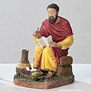 "St. Matthew Statue  (3 1/2"") - Unique Catholic Gifts"