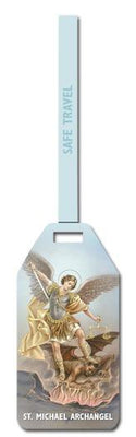 St. Michael Flexible Poly Luggage Tag - Unique Catholic Gifts