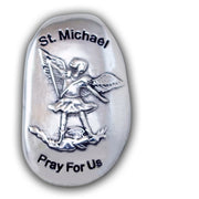 St. Michael Thumb Stone - Unique Catholic Gifts