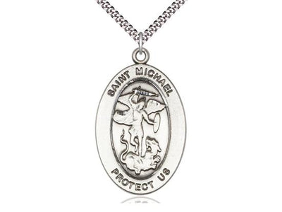 St. Michael the Archangel Oval Medal ( 1