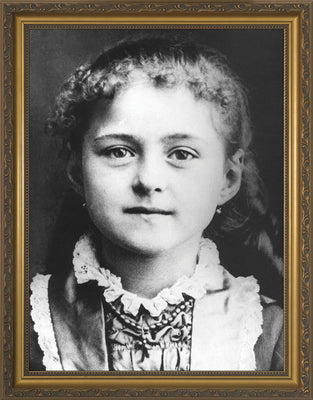 St. Therese the Child Framed Art (10 x 12