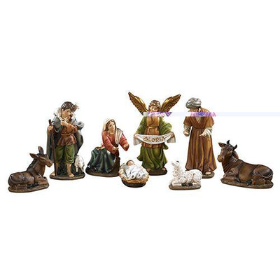 8 Piece Nativity Set With Detachable Baby Jesus 6