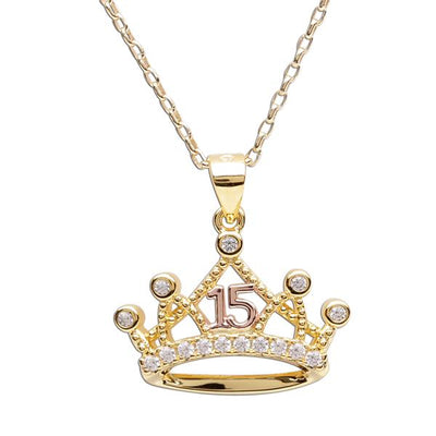 Quinceanera Tiara Necklace - Unique Catholic Gifts