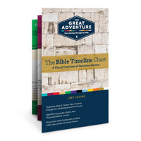The Bible Timeline Chart by Jeff Cavins and Sarah Christmyer - Unique Catholic Gifts