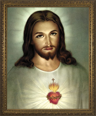 Traditional Sacred Heart of JesusFramed Art (10 x 12